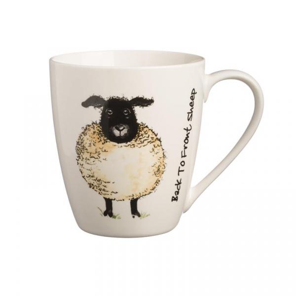 Kubek 350ml Price&Kensington Back To Front Sheep Mug biały 0059.131