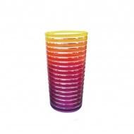 Kubek 360 ml Zak! Designs Rainbow żółto-różowy
