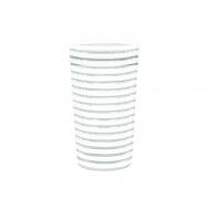 Kubek 360 ml Zak! Designs Swirl biały