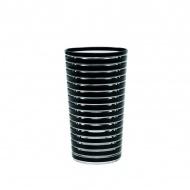 Kubek 360 ml Zak! Designs Swirl czarny