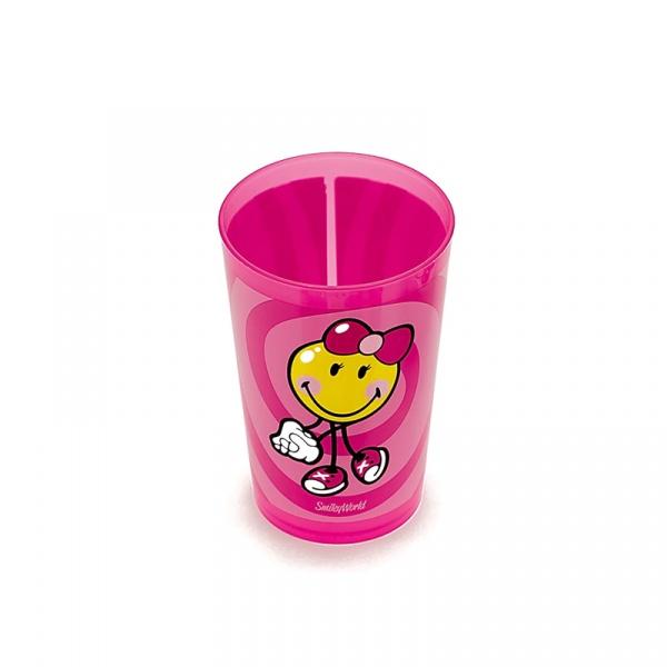 Kubek dla dziewczynki 260 ml  Smiley Kid Zak! Designs 6707-8445