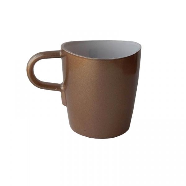 Kubek do kawy 260 ml Leonardo Loop brązowy 012912