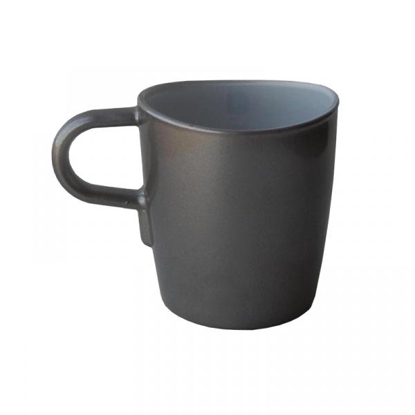 Kubek do kawy 260 ml Leonardo Loop szary 012908