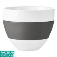 Kubek do latte 300ml Koziol AROMA biały/ciemny szary KZ-3560342
