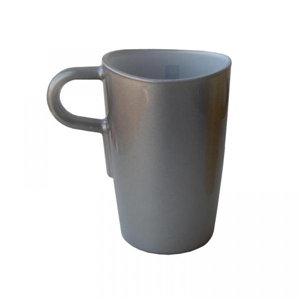 Kubek do latte macchiato Leonardo Loop szary 012929