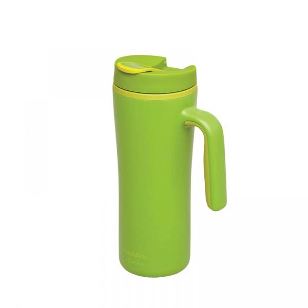 Kubek ekologiczny z uchwytem szczelny 0,35 l Aladdin R & R Fern AL-10-01924-003