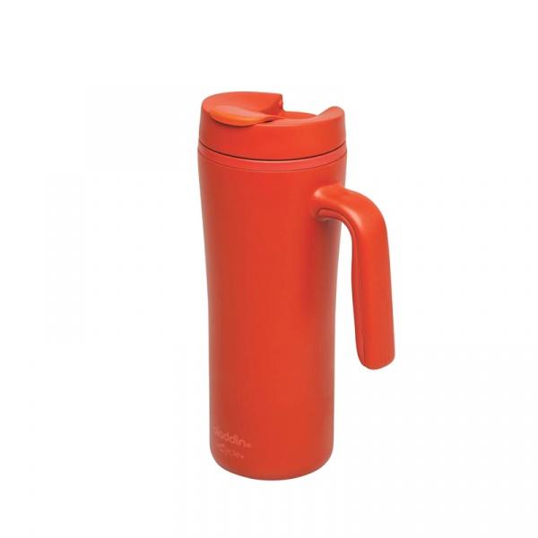 Kubek ekologiczny z uchwytem szczelny 0,35 l Aladdin R & R Tomato AL-10-01924-002