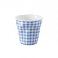 Kubek gnieciony do espresso Revol Vichy niebieski