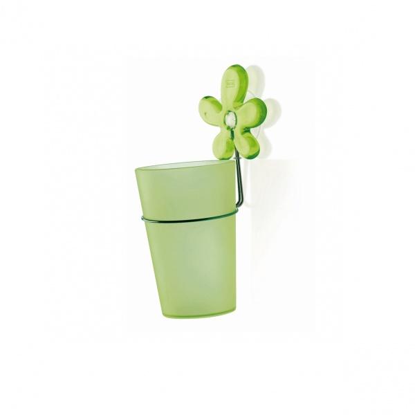 Kubek łazienkowy z uchwytem Koziol A-Pril zielony KZ-5821543