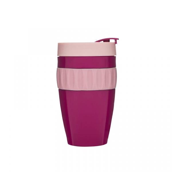 Kubek plastikowy 0,4 l Sagaform Cafe wiśniowy SF-5017247