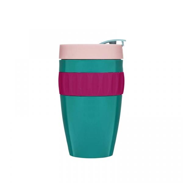 Kubek plastikowy 0,4 l Sagaform Cafe zielony SF-5017243