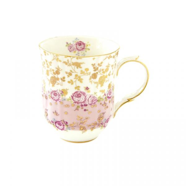 Kubek porcelanowy 0,28L Nuova R2S Heritage różowy 1501 HEPI