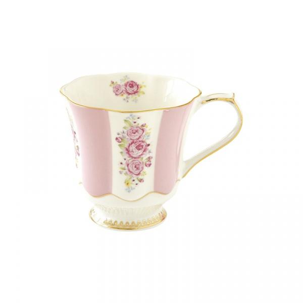 Kubek porcelanowy 0,28L Nuova R2S Heritage różowy 1502 HEPI