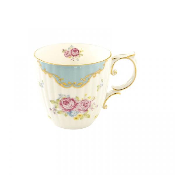 Kubek porcelanowy 0,325L Nuova R2S Heritage niebieski 1505 HEBL