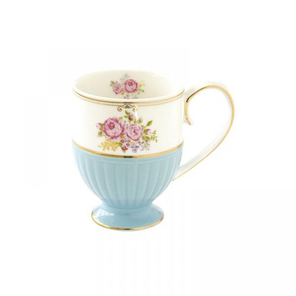 Kubek porcelanowy 0,3L Nuova R2S Heritage niebieski 1500 HEBL