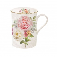 Kubek porcelanowy 250ml Nuova R2S Romantic Lace