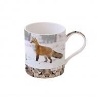 Kubek porcelanowy 350 ml Nuova R2S Wild Life Fox