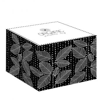 Kubek porcelanowy 375 ml Nuova R2S Organic czarny