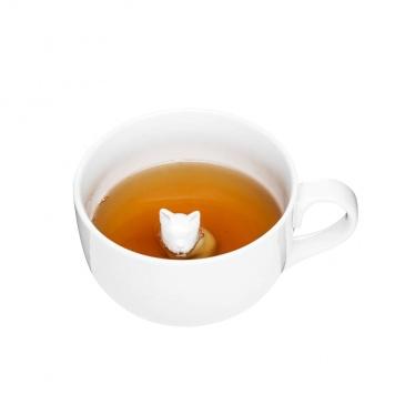 Kubek porcelanowy z pieskiem 600 ml Sagaform Tea