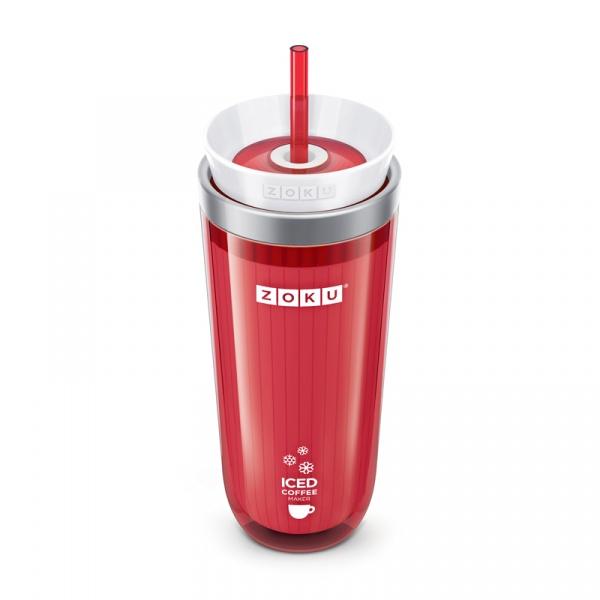 Kubek termiczny 0,26 l ICED COFFEE MAKER Zoku czerwony ZK121-RD