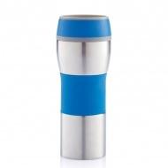 Kubek termiczny 0,4 l XDDesign Push niebieski