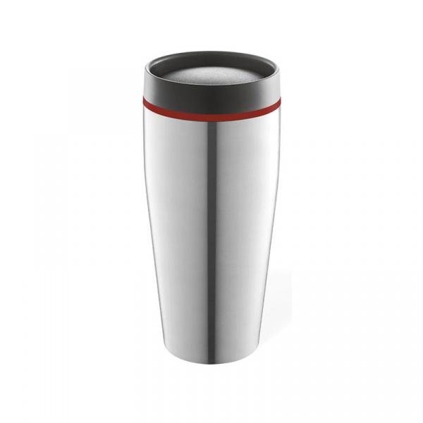 Kubek termiczny 0,4 l Zack Prendo czerwony ZACK-21012C
