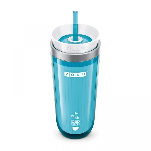 Kubek termiczny 260 ml ICED COFFEE MAKER Zoku turkusowy ZK121-TL