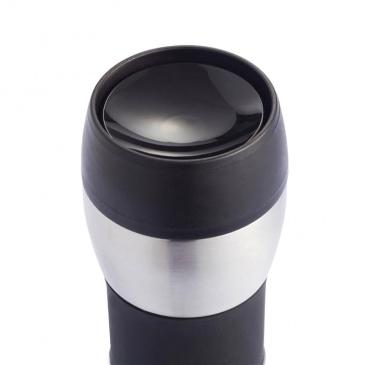Kubek termiczny 400 ml XDDesign Push czarny