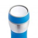 Kubek termiczny 400 ml XDDesign Push niebieski