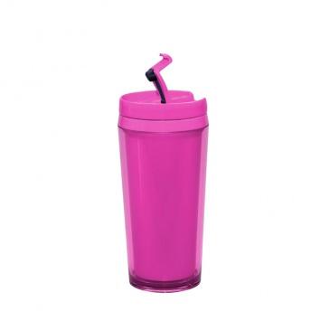 Kubek termiczny 450 ml Zak!  Pop! różowy