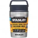 Kubek termiczny stalowy 0,23L Stanley Adventure srebrny