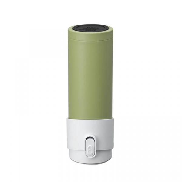 Kubek termiczny z zaparzaczem 350 ml PO: PAO zielono-biały 02686