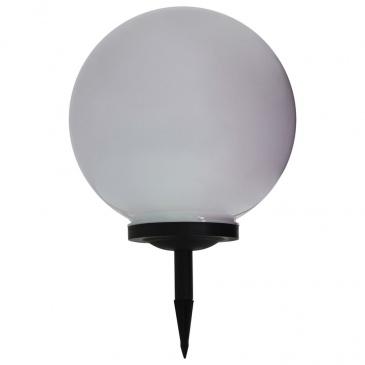 Kulista lampa solarna na zewnątrz, LED, 40 cm, RGB