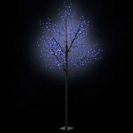 Kwitnące drzewko świąteczne, IP44, 300 cm, niebieskie LED