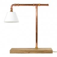 Lampa biurkowa Gie El miedziana