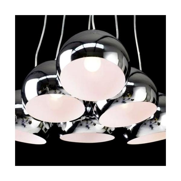Lampa Chromowane Perły M 14 cm DK-14022