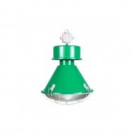 Lampa D2 Kwoka połysk zielony