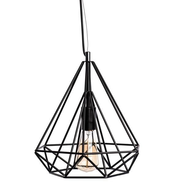 Lampa D2 wisząca Matrix 280 czarna 5902385703796