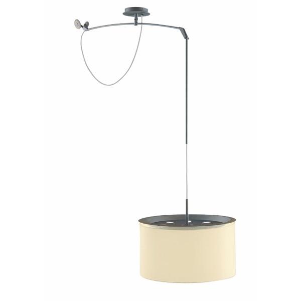Lampa Finger Mov klosz beż, śr. 45 cm DK-22882
