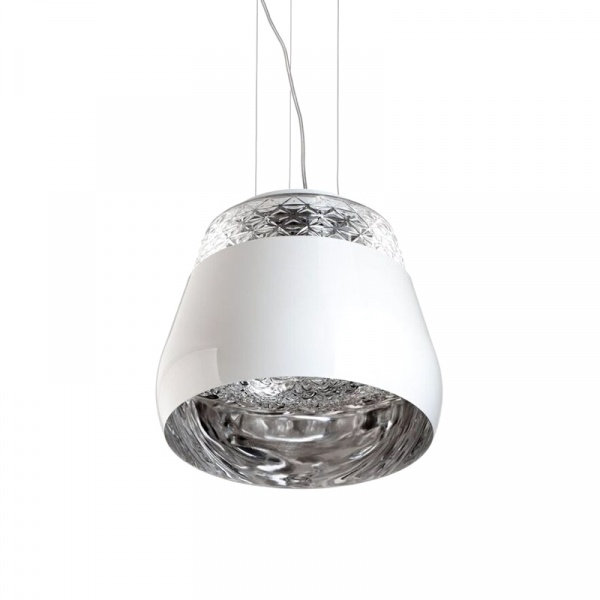 Lampa King Bath Decorado 35 biała SY-MD10670-1-355.WHITE