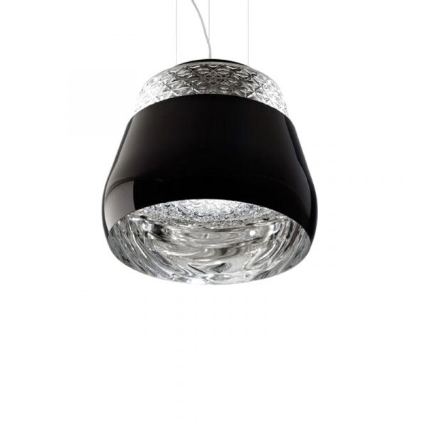 Lampa King Bath Decorado 35 czarna SY-MD10670-1-355.BLACK