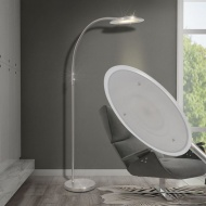 Lampa łukowa podłogowa przyciemniana LED 18 W
