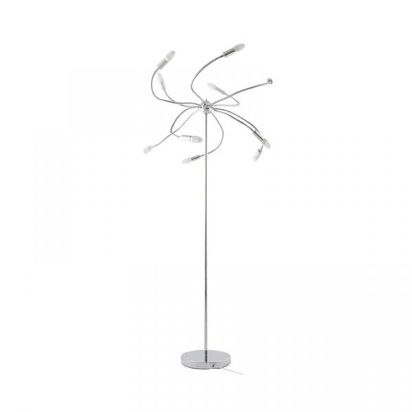 Lampa podłogowa Drago Kokoon Design chrom FL00160CH