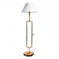Lampa podłogowa Gie El miedź