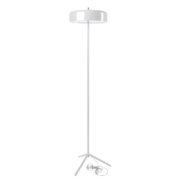 Lampa podłogowa Plate biała DK-24779