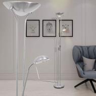 Lampa podłogowa przyciemniana LED 23 W