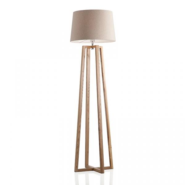 Lampa podłogowa Square Brandani beżowy 55693