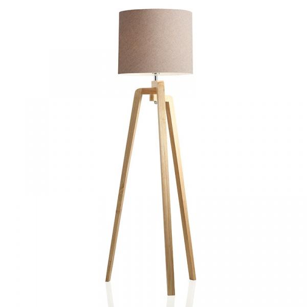 Lampa podłogowa Tridente Brandani beżowy 55691