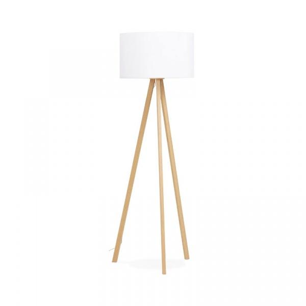 Lampa podłogowa Trivet Kokoon Design biały FL00380WHNA