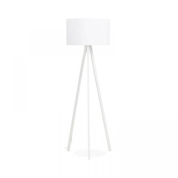 Lampa podłogowa Trivet Kokoon Design biały FL00390WHWH